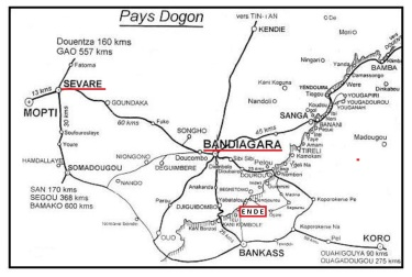 03 b la carte Pays Dogon